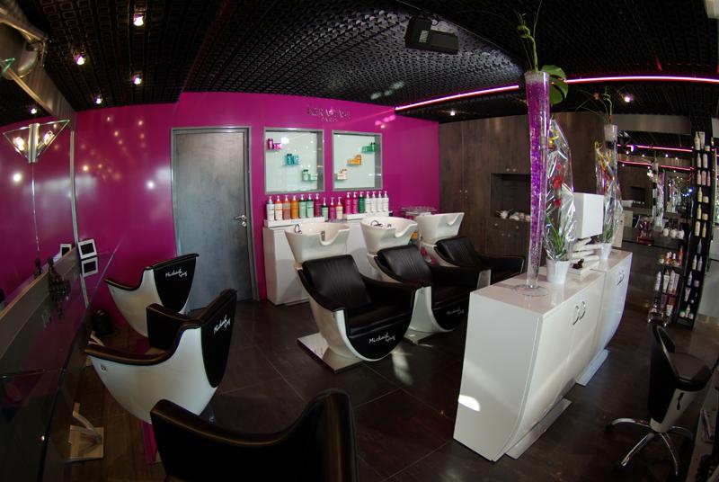 mickaelgreg coiffeur visagiste styling room plan. Black Bedroom Furniture Sets. Home Design Ideas